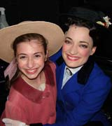 Brigid Harrington and Laura Michelle Kelly