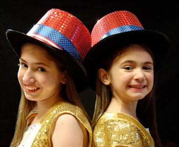 Brigid Harrington and Shannon Harrington on America's Got Talent