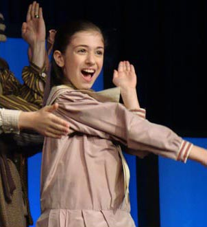 Brigid Harrington in Mary Poppins on Broadway